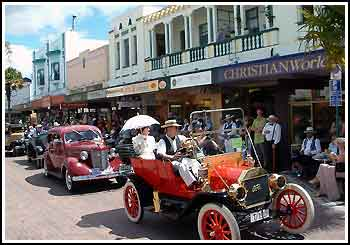 All our Napier Tours include a drive through the main street of Napier.