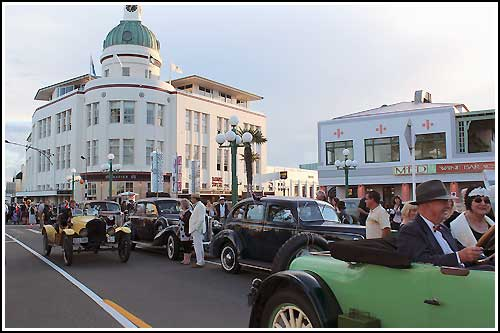 See vintage cars around the streets