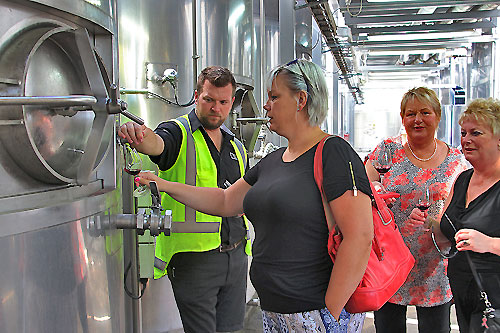 Taste wines directly from the tanks with Hawkes Bay Scenic Tours