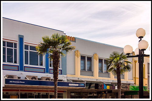 Discover streets lined with Art Deco on tour with Hawkes Bay Scenic Tours